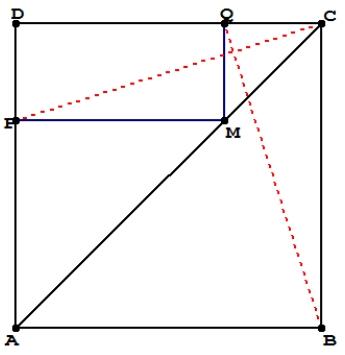 Produits scalaires, deux droites perpendiculaires, première