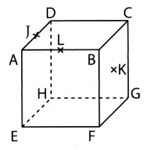 Exercice, espace, plans droite, géométrie, cube, parallèles, sécants, seconde