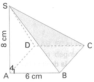 Géométrie 3D, pyramide, faces, aire, dimensions, volume, seconde