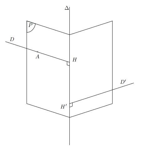 Géométrie Espace, plans, droite, équations, distance, terminale