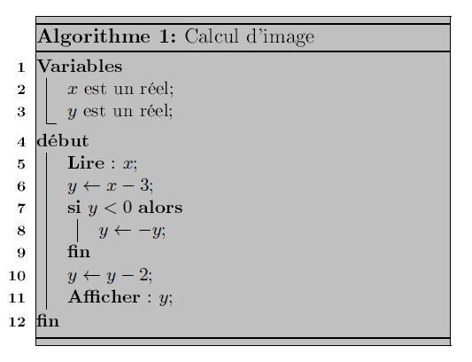 Algorithme, si, alors, sinon, variables, conditions, calculs, seconde