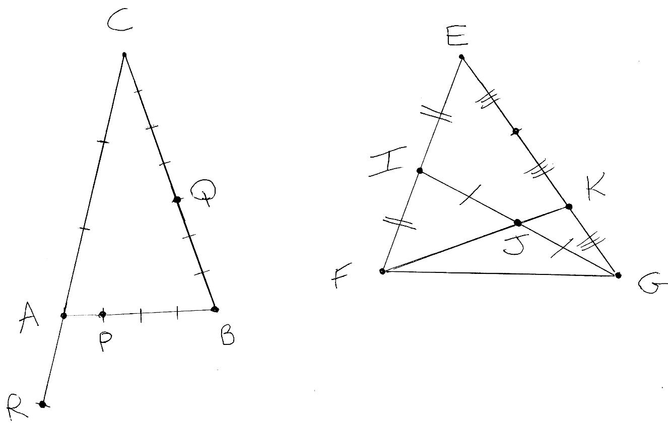 Exercice, vecteurs, triangles, première, formules, repère, points alignés