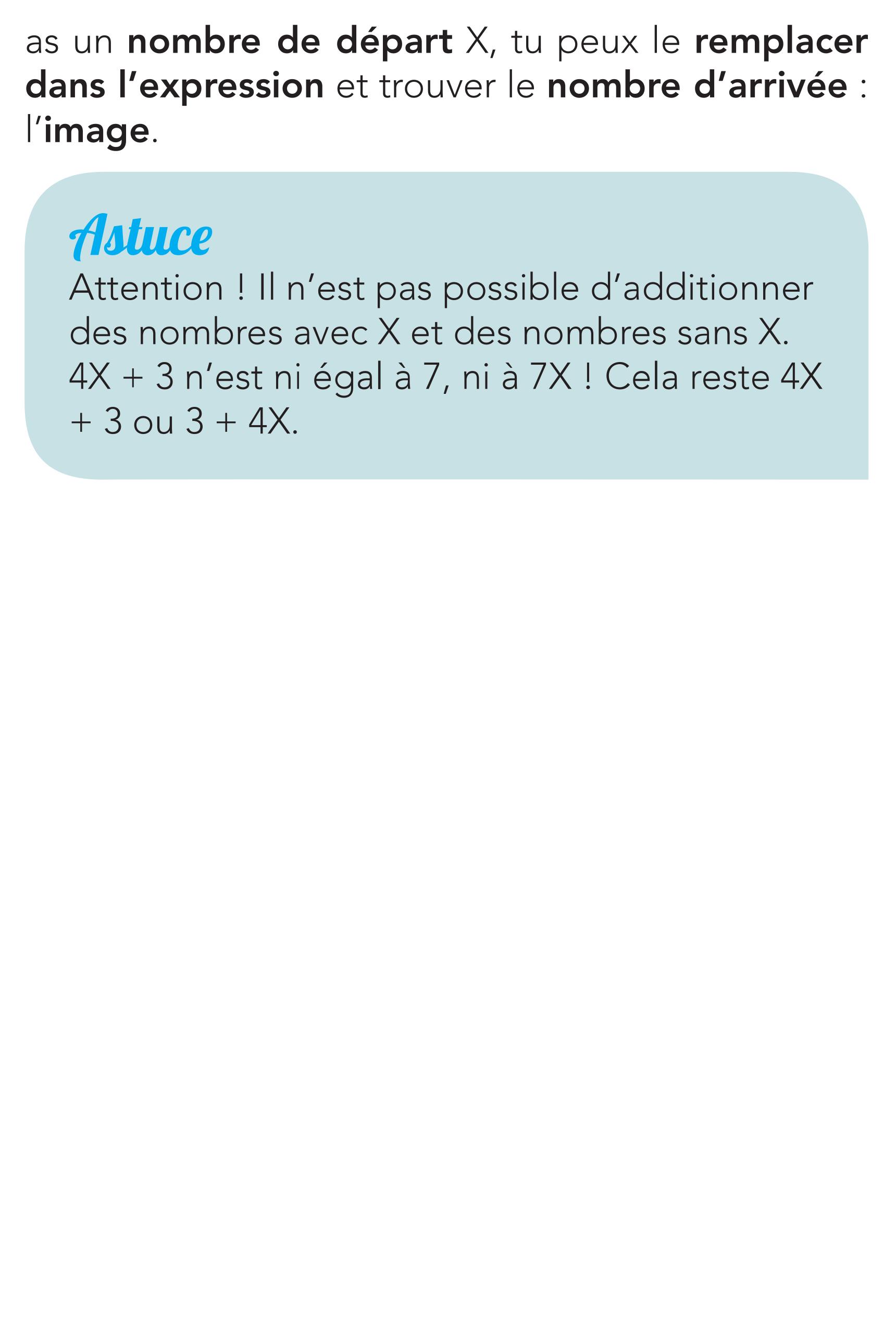 Livre de maths de seconde - La variable - Page 15