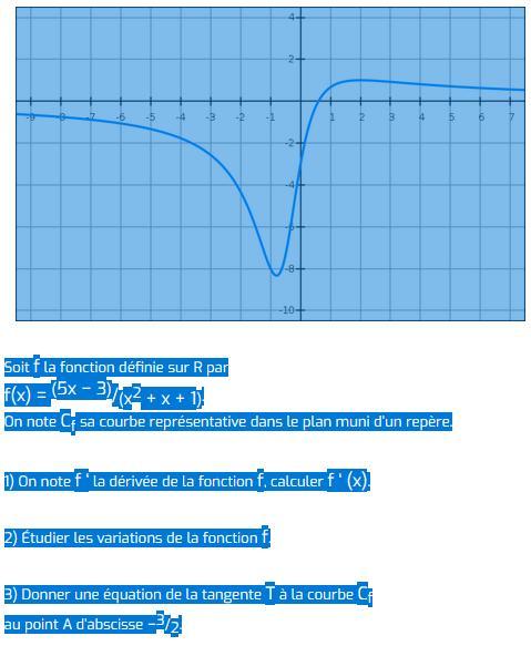 Imprimer les exercices de Spécialité Maths de Première